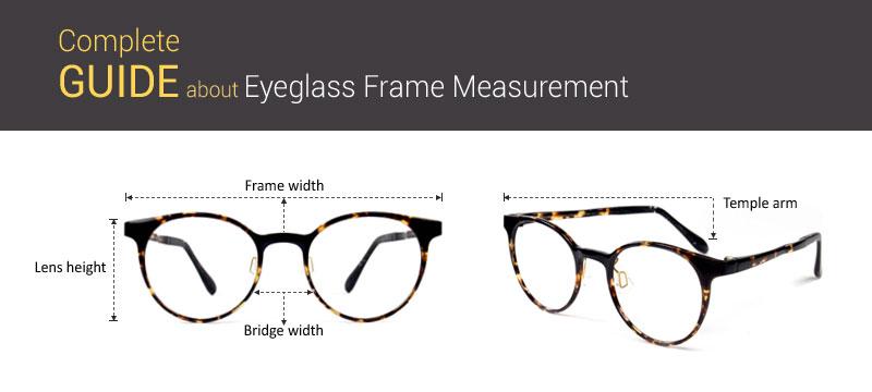 Eyeglass Frame Measurement