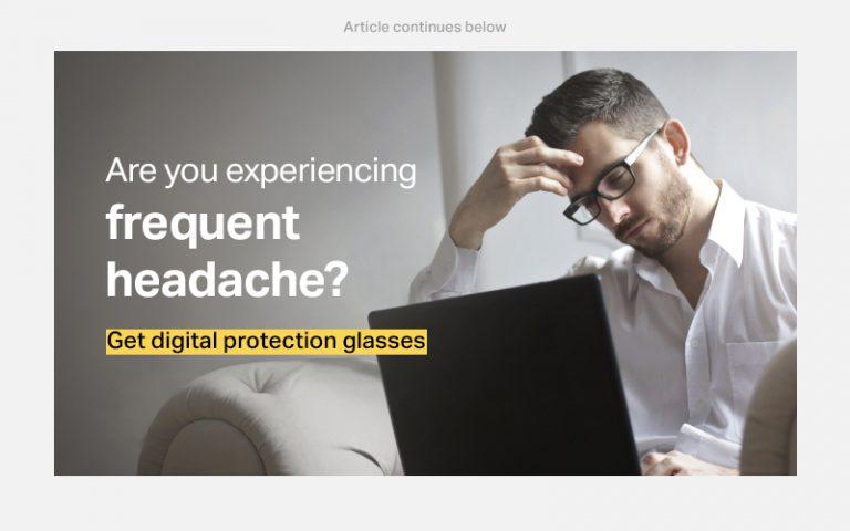 computer glasses to reduce headache
