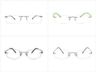 Opt for Rimless Glasses