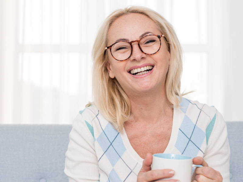 Eyeglasses for Older Women