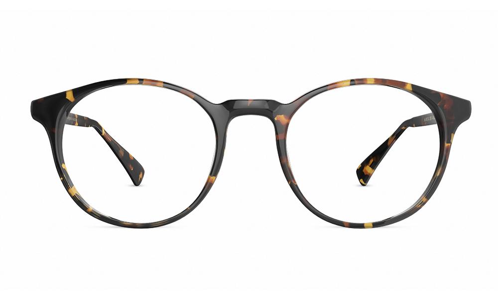 round tortoise shell glasses